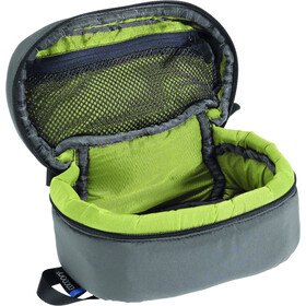 Cocoon Paddes Cubes, beluga grey/lime inside